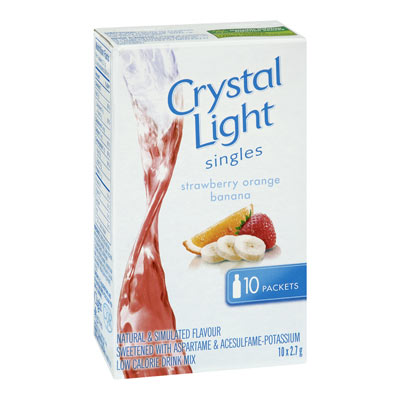 CRYSTAL LIGHT Singles Strawberry-Banana