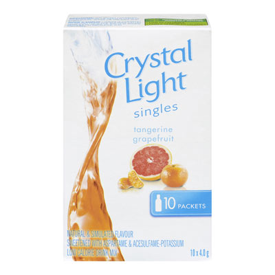 CRYSTAL LIGHT Singles Tangerine-Grapefruit