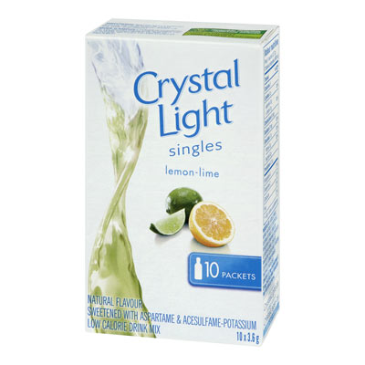 CRYSTAL LIGHT Singles Lemon Lime