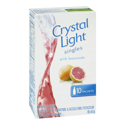 CRYSTAL LIGHT Pink Lemonade Drink Mix