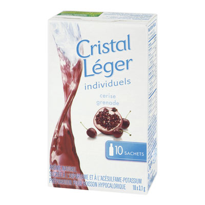 CRYSTAL LIGHT Singles Cherry Pomegranate