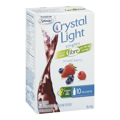 CRYSTAL LIGHT Singles La Mix Berry