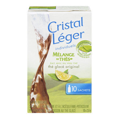 CRYSTAL LIGHT Singles Iced Tea Original