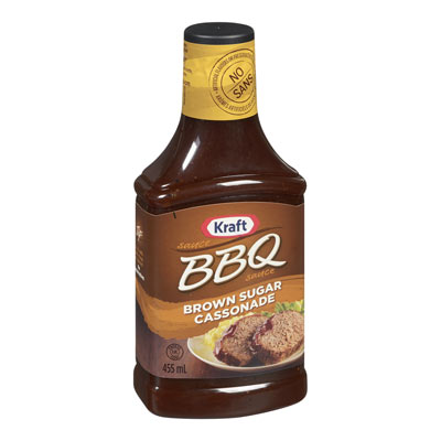KRAFT BBQ Sauce Brown Sugar