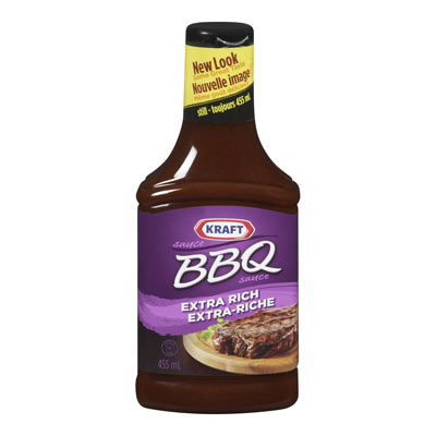 KRAFT Sauce BBQ Originale Extra-riche