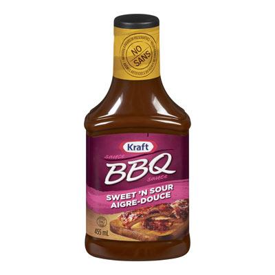 KRAFT Sauce BBQ aigre-douce