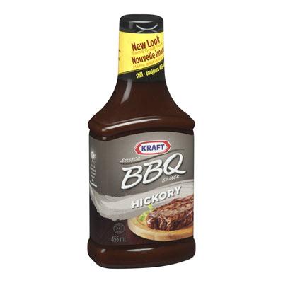 KRAFT Sauce BBQ Hickory