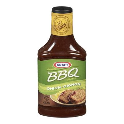 KRAFT Sauce BBQ oignon