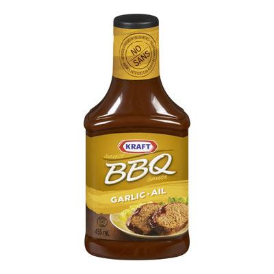 KRAFT Sauce BBQ Ail