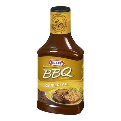KRAFT BBQ Sauce Garlic