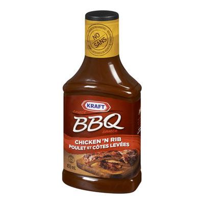 KRAFT BBQ Sauce Chicken N Rib