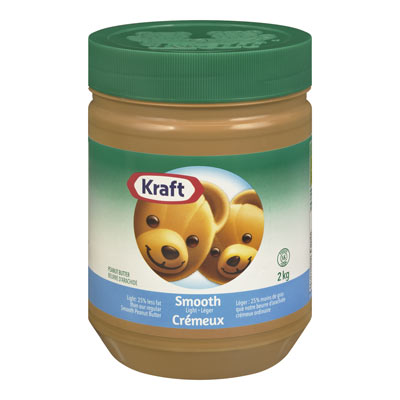 KRAFT Smooth Light Peanut Butter