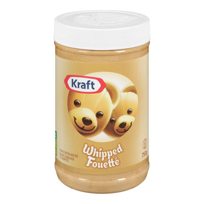 KRAFT Whipped Peanut Butter and Dip