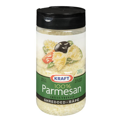 KRAFT 100% Parmesan Shredded Cheese
