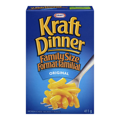 KRAFT DINNER FAMILY SIZE