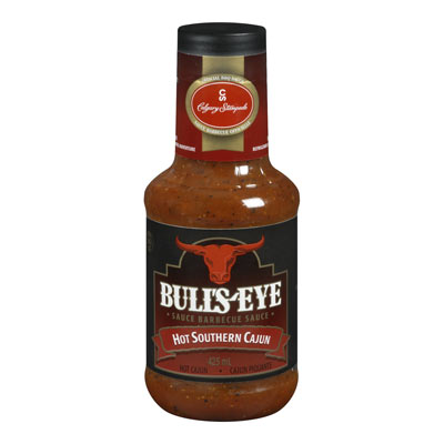 BULLS-EYE Sauce barbecue Cajun piquante 425�ml