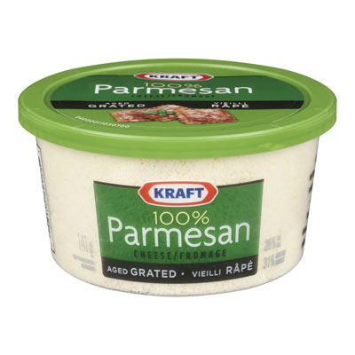 KRAFT 100% Parmesan Aged Grated Cheese