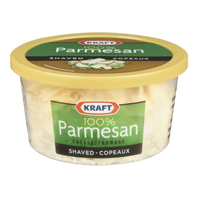 KRAFT 100% Parmesan Shaved Grated Cheese