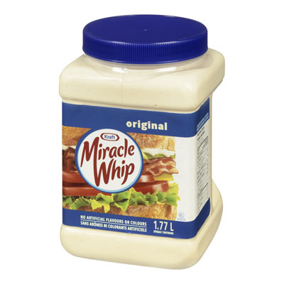 MIRACLE WHIP CALORIE-WISE
