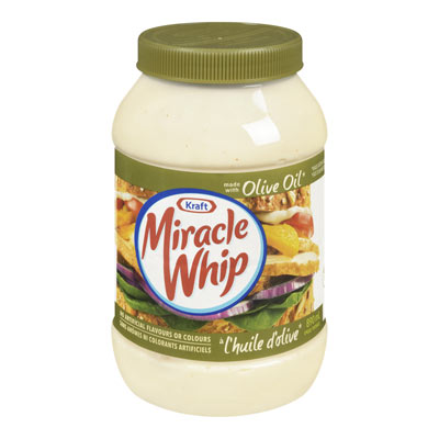 MIRACLE WHIP Olive Oil