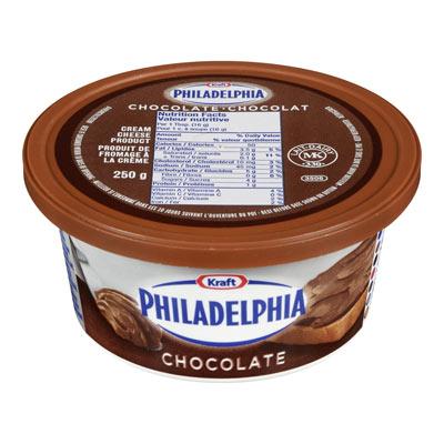 PHILADELPHIA Produit de fromage à la crème Chocolat