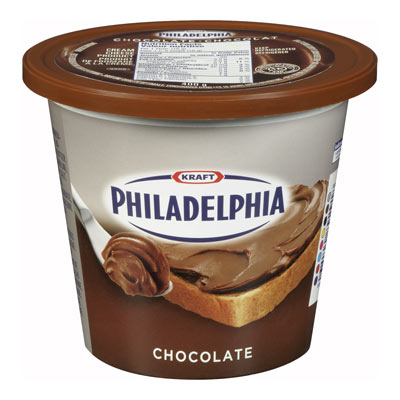 PHILADELPHIA Chocolate Cream Cheese Product