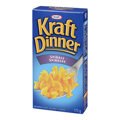 KRAFT DINNER Spirals  Macaroni & Cheese