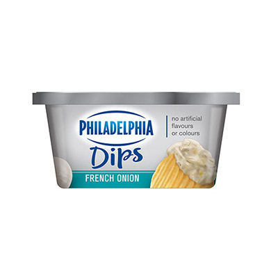 PHILADELPHIA Dips French Onion
