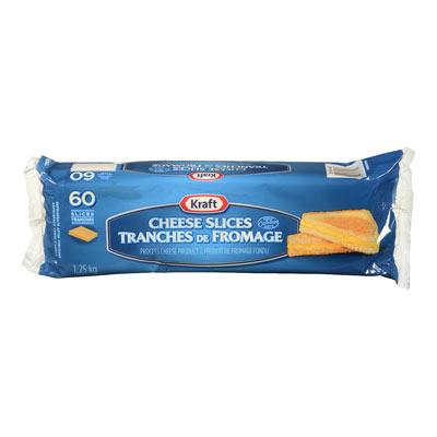 tranches de fromage faible en grassi