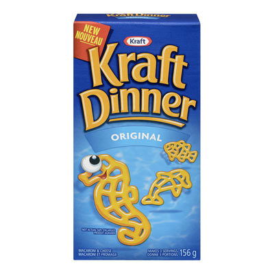 KRAFT DINNER Underwater Creature Shapes  Macaroni & Cheese 15