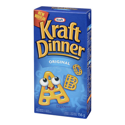 KRAFT DINNER Macaroni et fromage - Alphabet
