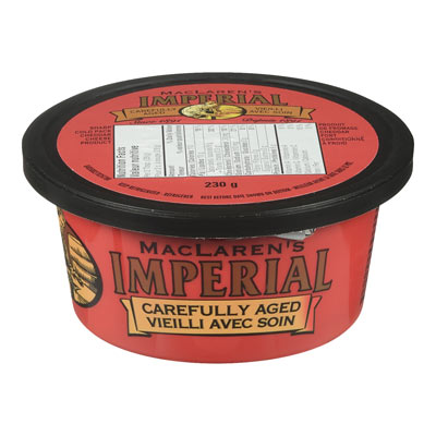 MACLAREN IMPERIAL  NATURAL CHEESE-WHEEL  SHARP COLD PACKED CHEDDAR
