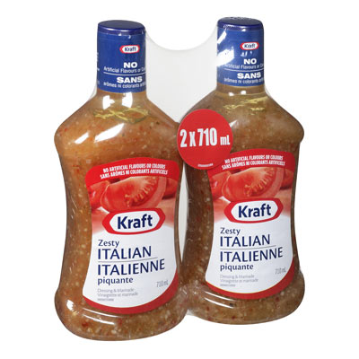KRAFT  DRESSING ZESTY ITALIAN