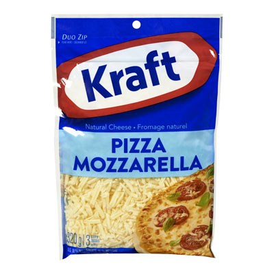 KRAFT Fromage Mozzarella à pizza râpé