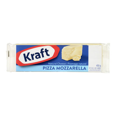 KRAFT  NATURAL CHEESE-BARS  PIZZA MOZZARELLA