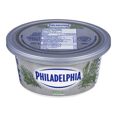 PHILADELPHIA  CREAM CHEESE-SOFT  DILL