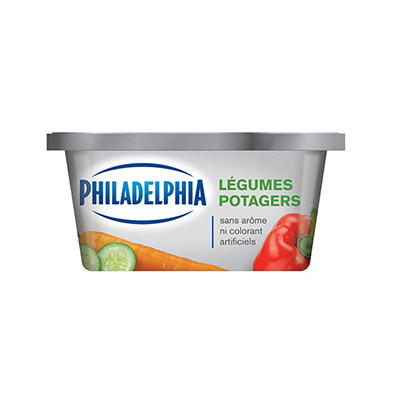 PHILADELPHIA  CREAM CHEESE-SOFT  GARDEN VEGETABLE