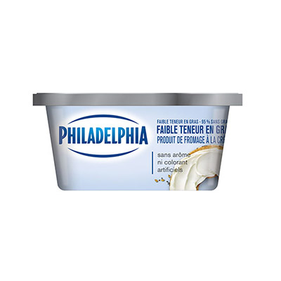 PHILADELPHIA  CREAM CHEESE-SOFT 95% FAT FREE LOW FAT