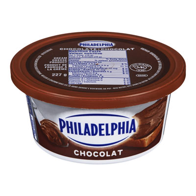 PHILADELPHIA  CREAM CHEESE-SOFT  CHOCOLATE