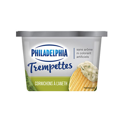 PHILADELPHIA  DIPS CREAM CHEESE-DIP  DILL PICKLE