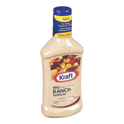 KRAFT  DRESSING-LIQUID  BBQ RANCH