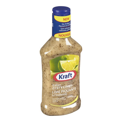 KRAFT  DRESSING-LIQUID  ITALIAN ZESTY LIME