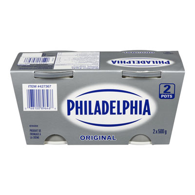 PHILADELPHIA CREAM CHEESE-SOFT  ORIGINAL