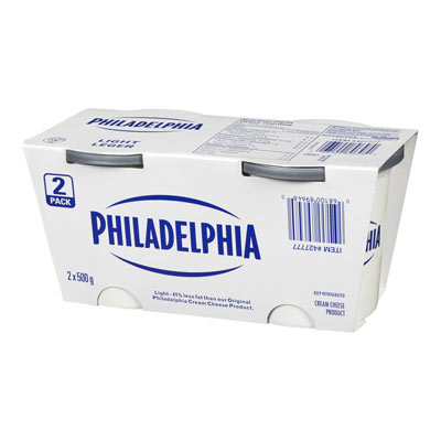 PHILADELPHIA CREAM CHEESE-SOFT LIGHT