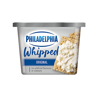 PHILADELPHIA  CREAM CHEESE-WHIPPED  PLAIN