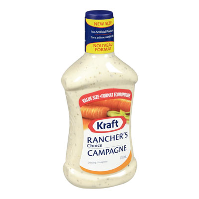 KRAFT  DRESSING RANCHER'S CHOICE