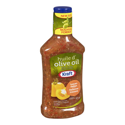 KRAFT  DRESSING TUSCAN ITALIAN WITH EXTRA VIRGIN OLIVE OIL