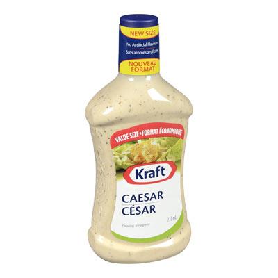 KRAFT Vinaigrette César