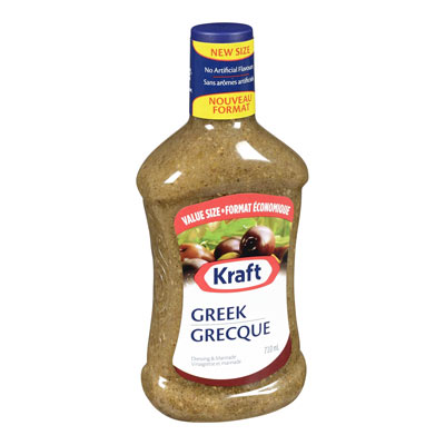 KRAFT  DRESSING GREEK