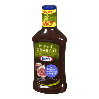 KRAFT  DRESSING FIG BALSAMIC WITH EXTRA VIRGIN OLIVE OIL